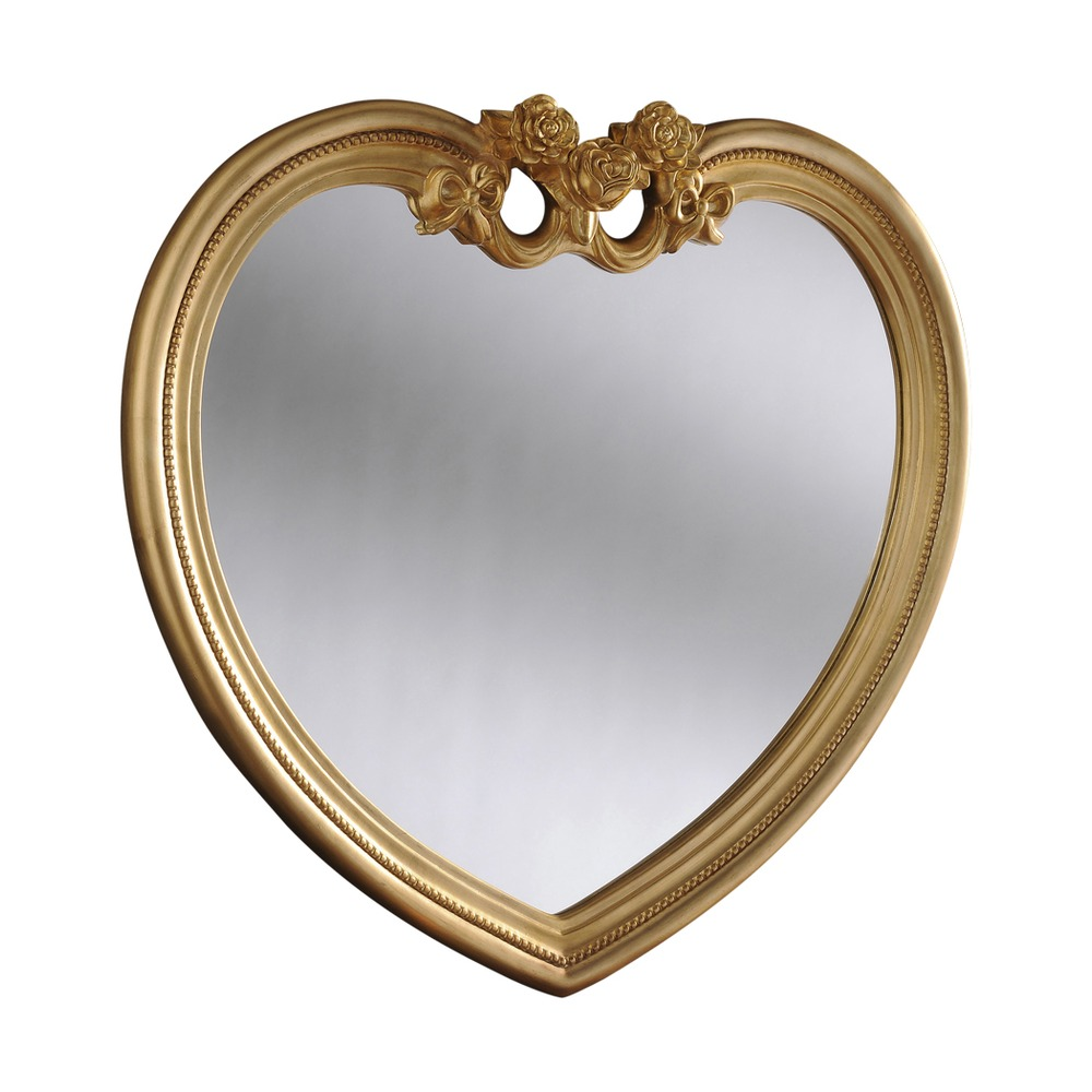 Heart Mirror Heart Ornate Mirror Select Mirrors