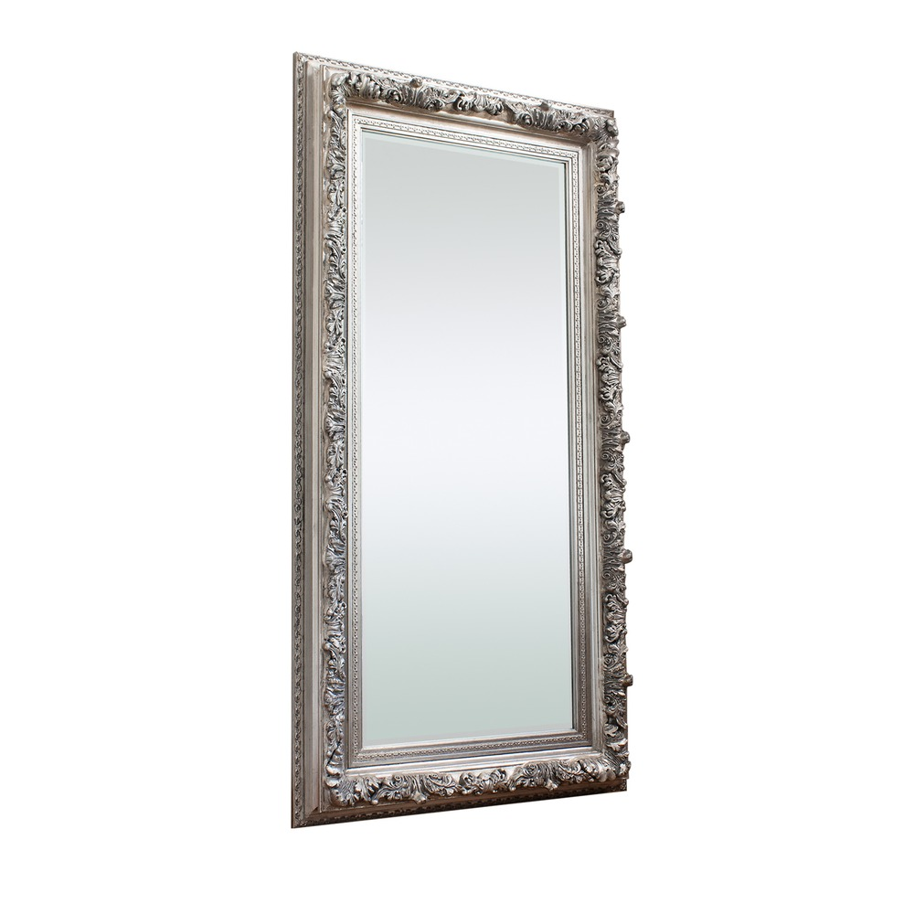 Full Length Mirror Antwerp Leaner Mirror Silver Select