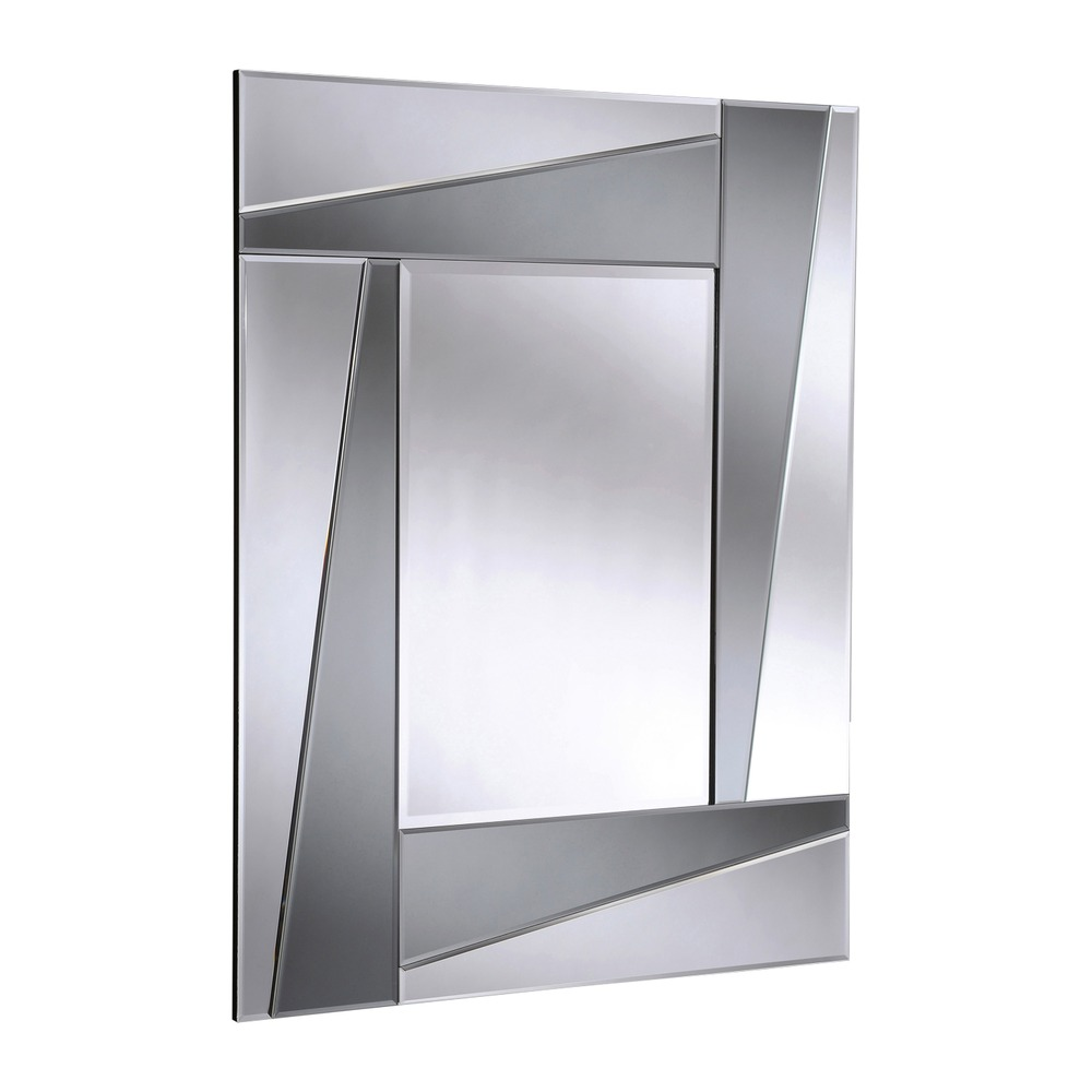 Large mirror smoked art deco wall mirror select mirrors