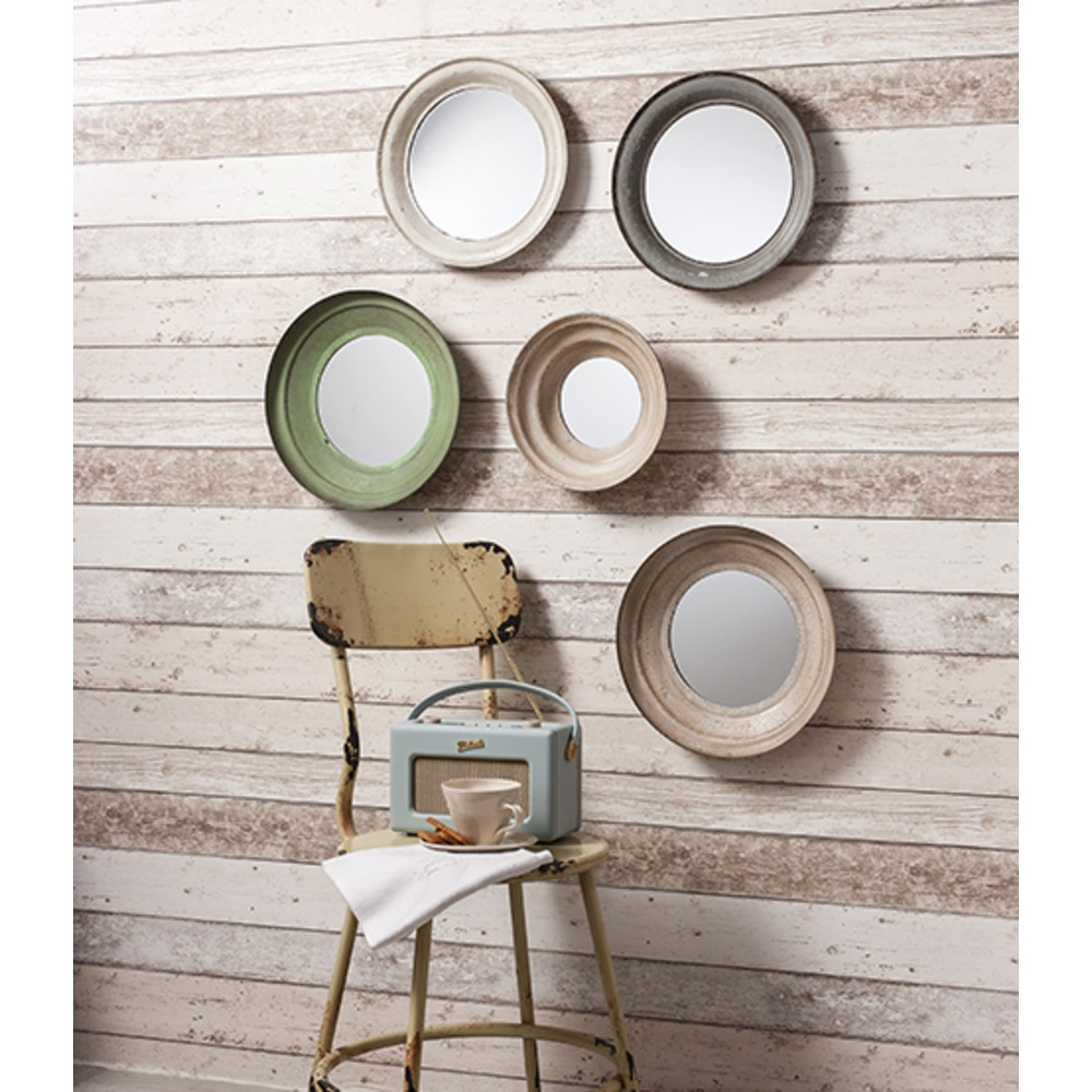 Crosby Metal Framed Mirrors Set Of 5