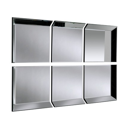 Byblos 6 Panel Wall Mirror