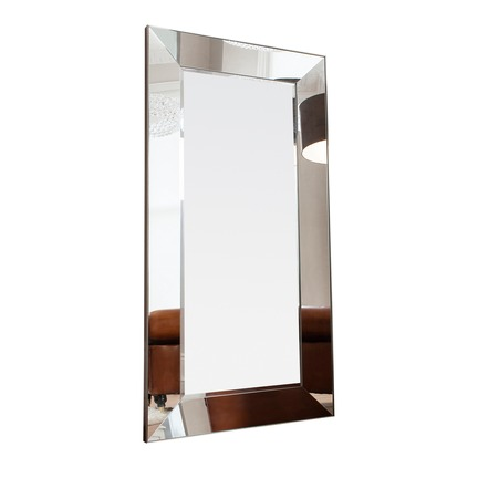 Vasto Leaner Mirrored Frame Mirror