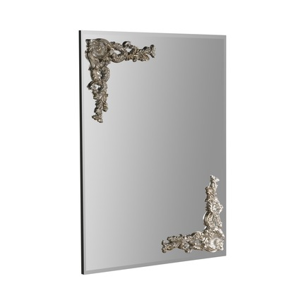 Lombardy Silver Wall Mirror