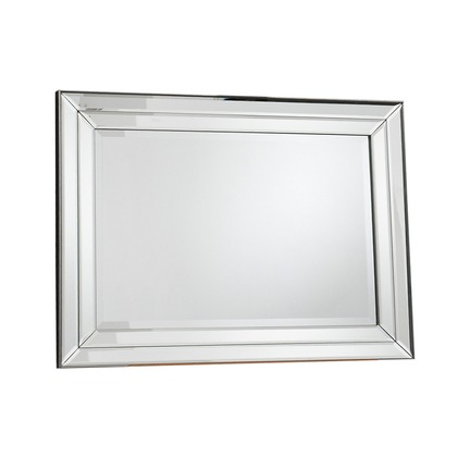 Roswell Mirror Double Bevelled Strip