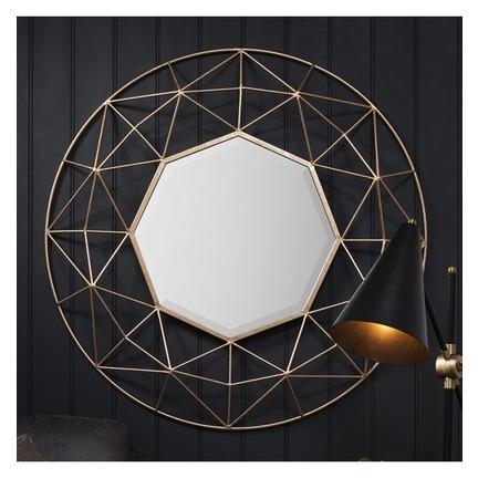 Andromeda Large 3D Frame Mirror
