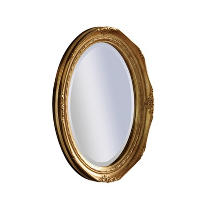 Riley Oval Bevelled Wall Mirror