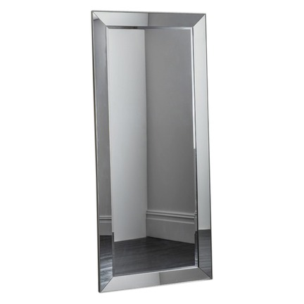 Bertoni Leaner Mirror All Glass Finish