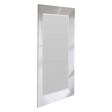 Mozia White Bevelled Wall Mirror