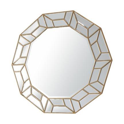 Celeste Decagon Mirror
