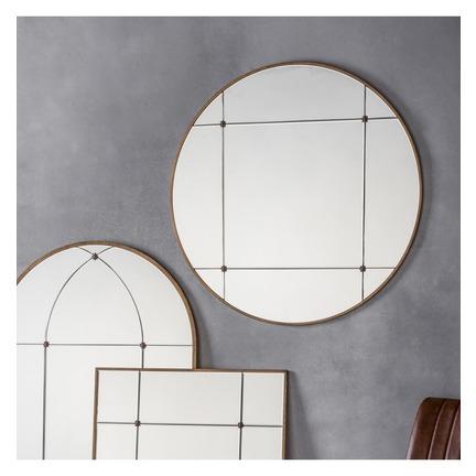 Ariah Round Mirror