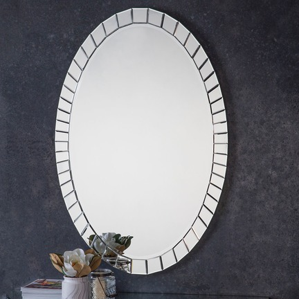 Travis Oval Mirror
