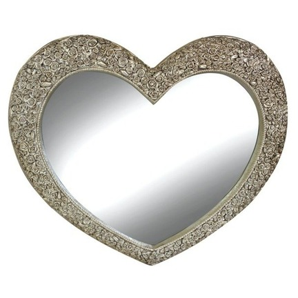 Large Heart Mirror