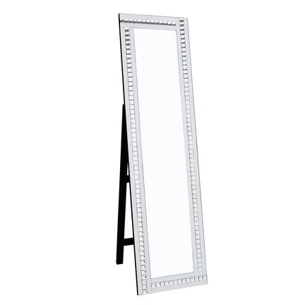 Alma White Cheval Mirror