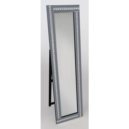 Alma Smoked Cheval Mirror