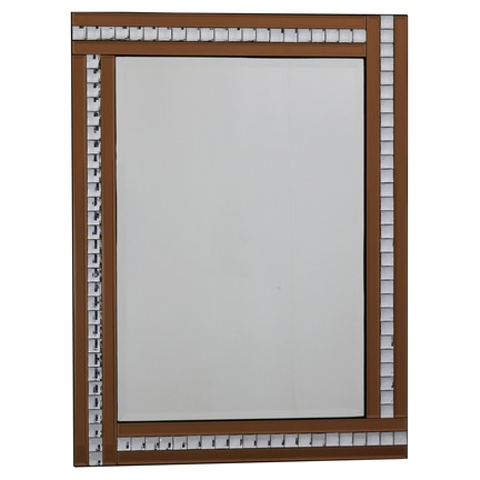 Alma Bronze Glass Mirror - 3 Sizes