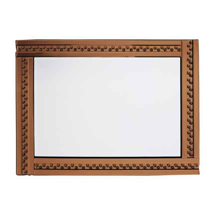 Glitz Bronze Mirror