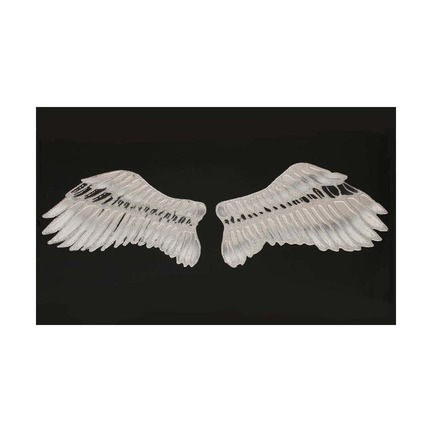 Angel wings on Black Mirror Art