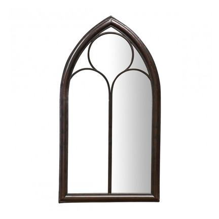 Monica Metal Garden Window Mirror