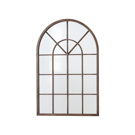 Kelford Metal Window Mirror Bronze