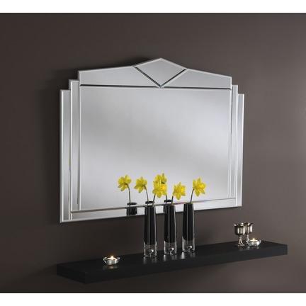 Senate Silver Wall Mirror
