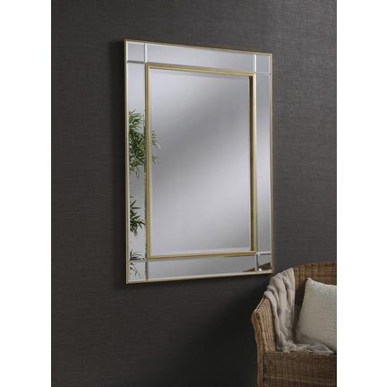 Baker Gold Wall Mirror