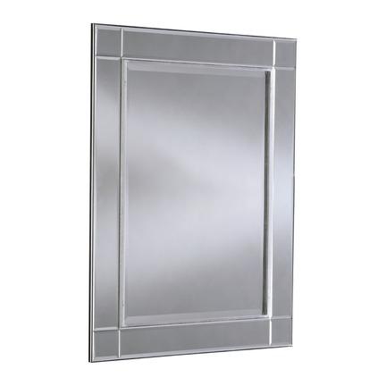 Baker Silver Wall Mirror
