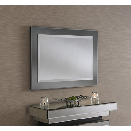 Majestic Grey Wall Mirror