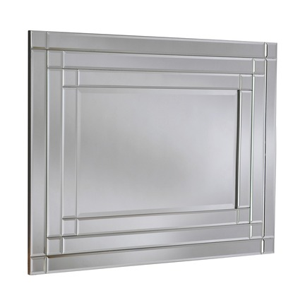Wyndham Silver Wall Mirror