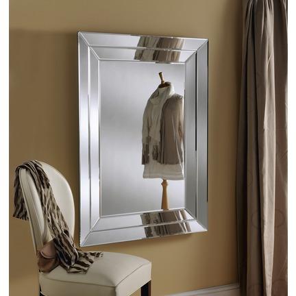 Cavalier Silver Wall Mirror
