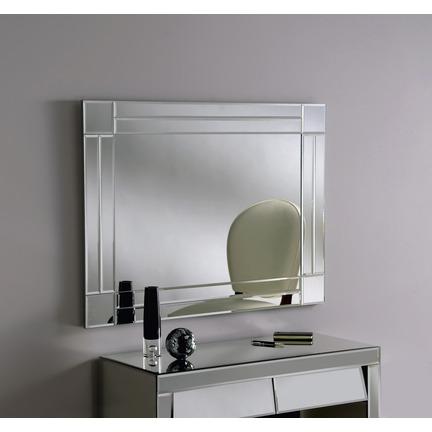 Chanin Silver Wall Mirror