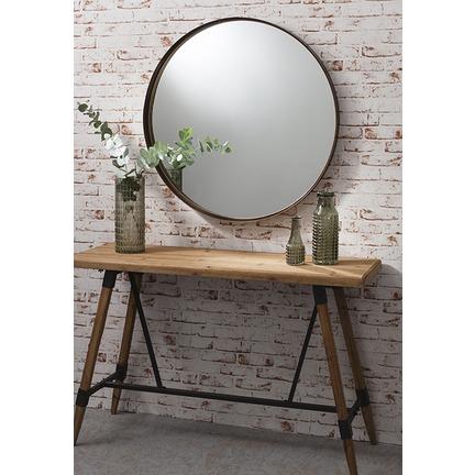 Greystoke Round Mirror