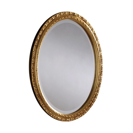 Taylor Oval Bevelled Wall Mirror