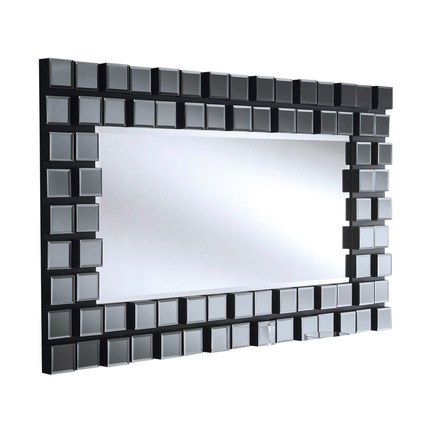 Mona XL Grey Wall Mirror