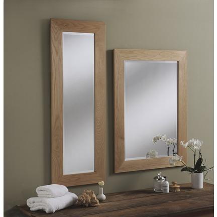 Preston Solid Oak Wall Mirrors