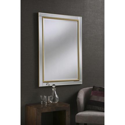 Maya Gold Wall Mirror