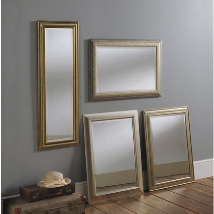Albany Silver Framed Wall Mirror