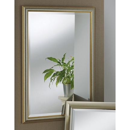 Pembrooke Gold & Silver Framed Wall Mirror