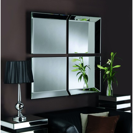 Byblos 4 Panel Wall Mirror