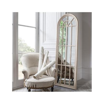 Curtis Panelled Arch Window Mirror