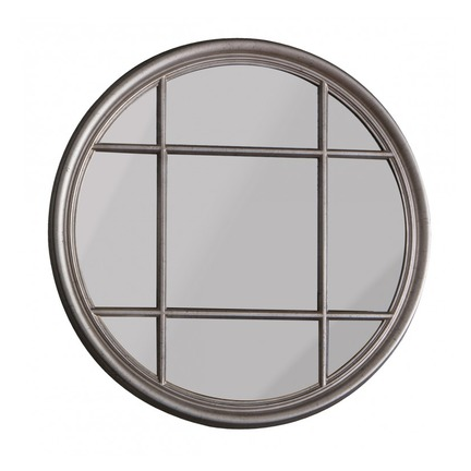 Eccelston Round Mirror Silver
