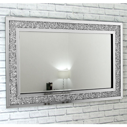 Gatsby Glass Crystals Mirror