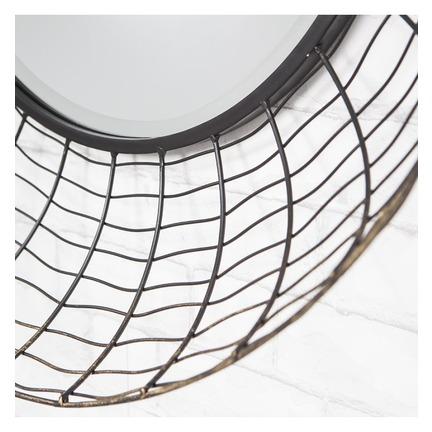 Lucia Wire Frame Mirror