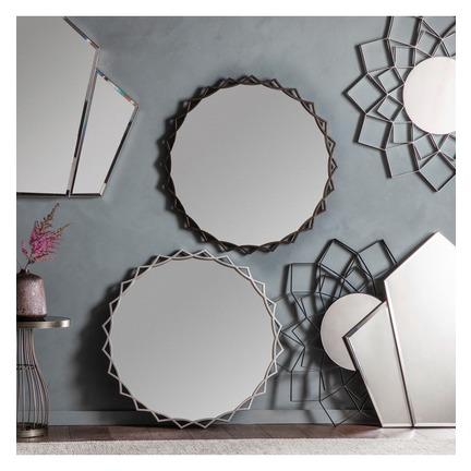 Novia Round Mirror