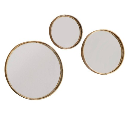 Rico Set of 3 Round Mirrors