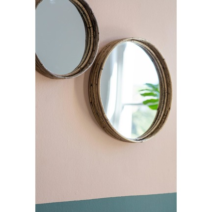 Rico Set of 3 Mirrors Natural