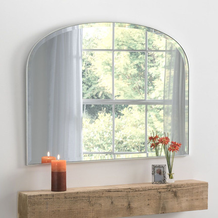 Simplicity Overmantel Mirror