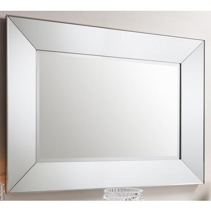Vasto Rectangular Mirrored Frame Wall Mirror