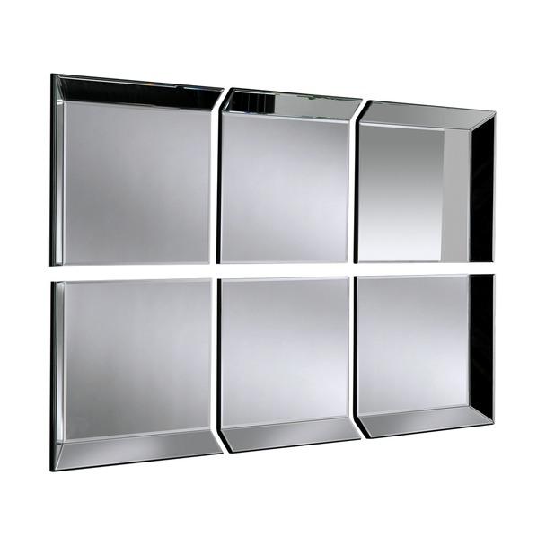 Byblos 6 Panel Wall Mirror