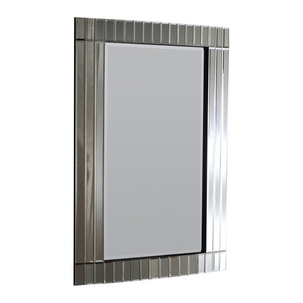 Crowne Silver Wall Mirror