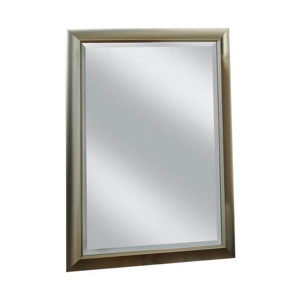 Milford Silver Framed Wall Mirror
